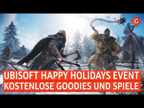 Ubisoft: Geschenke zum Happy Holidays Event! NVIDIA: Neues PR-Debakel! | GW-NEWS