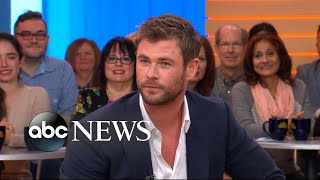 Chris Hemsworth dishes on 'Thor: Ragnarok' and the upcoming 'Avengers' film