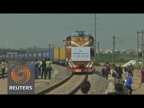 First Britain-China direct freight train arrives back in China