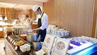 FIVE STAR All You Can Eat BREAKFAST Buffet in Tainan Taiwan