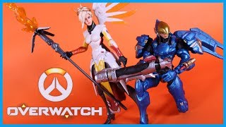 Hasbro Overwatch Ultimates MERCY & PHARAH 2 PACK Action Figure Toy Review