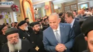 بالفيديو: محافظ القليوبية يشهد حفل عيد رسامة الأنبا مرقس اسقف شبرا ...
