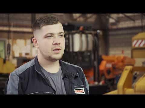 Pracownicy STRABAG BMTI  –  zawodowcy w obsłudze sprzętu budowlanego