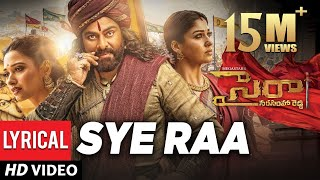 Sye Raa Title Song Lyrical Video- Chiranjeevi..