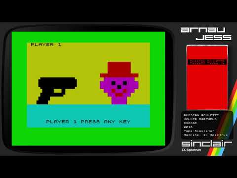 RUSSIAN ROULETTE Zx Spectrum -CSSCGC- by Volker Bartheld