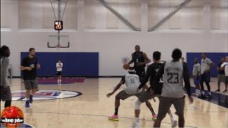 LA Clippers 2019 Scrimmage, Kawhi Leonard vs Lou Williams, Starters vs Bench HoopJab NBA