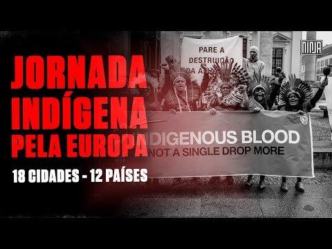Jornada Sangue Indígena: Nenhuma Gota mais!