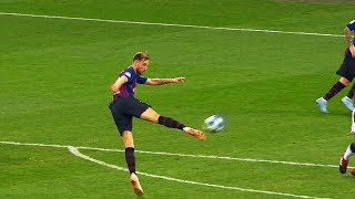 19 Impossible ONE Touch Goals Only FC Barcelona Players Can Score in Football ||HD||