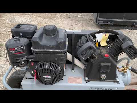 video Iron Horse IHTT80G-BS Stationary 8 HP Compressor
