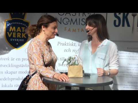 """Elin Aronsen Beis,  Foodloopz """"För maten vad Blocket är för prylar""""."""