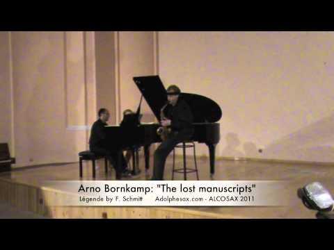 """Arno Bornkamp: """"Légende Op.66 by F. Schmitt"""""""