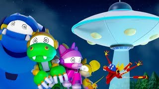Animal Mechanicals NEW Series | Episode 4: The UFO Invasion | Cartoon Shows for Toddlers