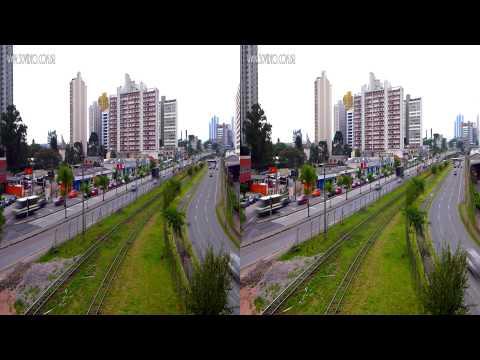 Curitiba - Trânsito 400Km 3D março 2013 - Lumix LX7 - Short