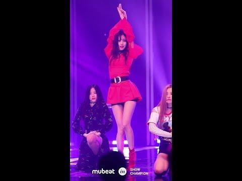 [MUBEAT X Show Champion] 180516 (G)I-DLE((여자)아이들) LATATA 수진 SOOJIN Focused CAM