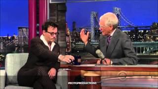 Johnny Depp - David Letterman Full Interview (June 2013)