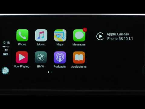 How To Switch Between Apple CarPlay And The BMW iDrive System
