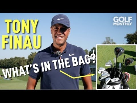 TONY FINAU: WHAT'S IN THE BAG?! Golf Monthly