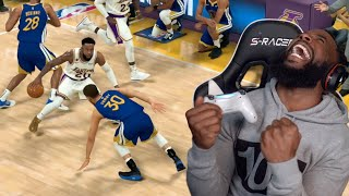 I Broke Stephen Curry's Ankles! Lakers vs Warriors Playoff Game 1! NBA 2K20 MyCareer Ep 36