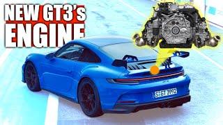 The New Porsche 911 GT3's Engine Is A Masterpiece