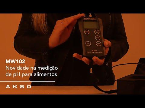 Novidade na medição de pH para alimentos - MW102