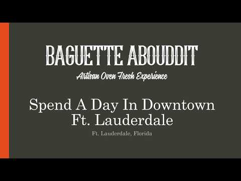 Great Places to have Lunch in Fort Lauderdale | Baguette Abouddit | Ft. Lauderdale