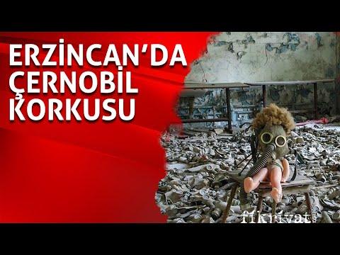 Erzincan'da Çernobil korkusu