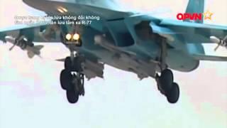 [TIÊU ĐIỂM QUÂN SỰ] SU-34 – Vũ khí tối thượng của Nga trong chiến dịch không kích chống IS