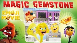 Emoji Movie Magic Gemstone w/ Jailbreak, Gene, Smiler & Hi-5 in Jail in Textopolis!