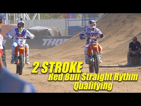 2 Stroke Red Bull Straight Rhythm Qualifying - Motocross Action Magazine