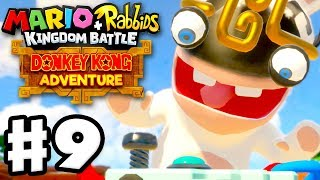 Mario + Rabbids Kingdom Battle: Donkey Kong Adventure DLC - Gameplay Walkthrough Part 9