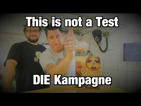 Bunkervideos - This is not a Test: DIE Kampagne Spiel 1