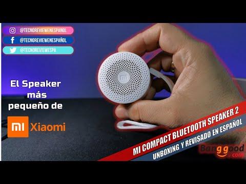 ☑️ El Altavoz mas pequeño de XIAOMI – Mi Compact Bluetooth Speaker 2 versión 2020 en español.