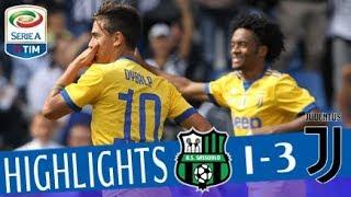 Sassuolo - Juventus -1-3 - Highlights - Giornata 4 - Serie A TIM 2017/18