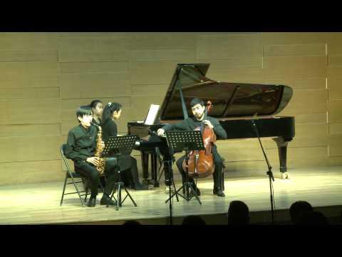 Brahms: Trio Op.114 - I. Allegro - Hanchao Jiang & Tong-Guignard Duo