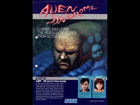 Alien Syndrome Arcade Sound Track