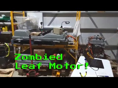 Nissan Leaf Zombie Guts-The Walking Dead!