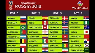 FIFA World Cup - Russia 2018 Final Draw