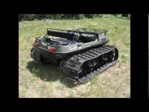 Amphibious Vehicle For Sale >> For Sale - 2004 Argo Bigfoot 6X6 Amphibious ATV-UTV - YouTube