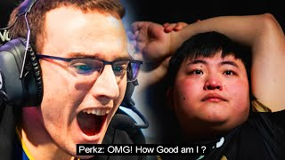 Perkz, the UNDERDOG Pulls Out The BIGGEST UPSET in WORLDS 2018 !