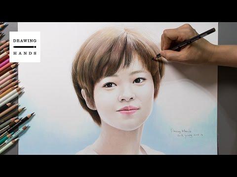Speed Drawing TWICE - Jeongyeon [Drawing Hands]