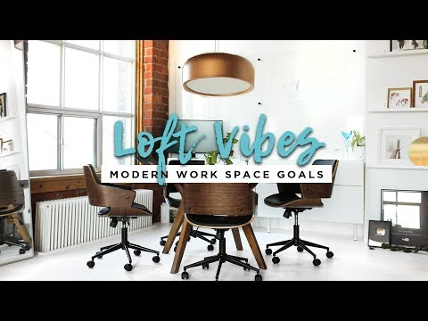 Creating the Perfect Work Space | LOFT VIBES