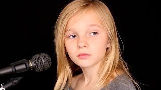 Simon And Garfunkel - The Sound Of Silence (Cover by 11yo Jadyn Rylee feat. Sina)