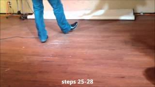 Footloose (Blake Shelton version) Line Dance Lesson at Rocky Tonk