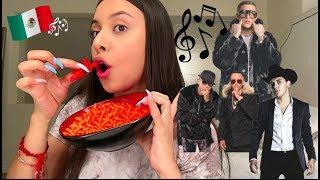 SPANISH MUSIC PLAYLIST & EATING HOT CHEETOS