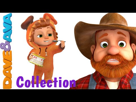Johny Johny Yes Papa | Nursery Rhymes Compilation | YouTube Nursery Rhymes from Dave and Ava