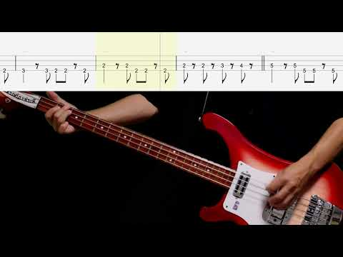 Bass TAB : Run For Your Life - The Beatles