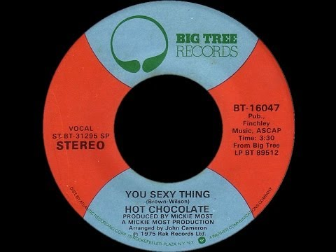 Hot Chocolate ~ You Sexy Thing 1975 Disco Purrfection Version