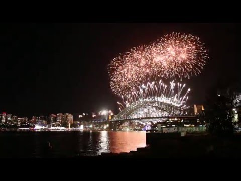 New Year's Eve 2015 at Barangaroo Reserve