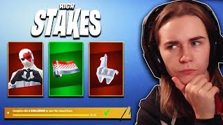 High Stakes LTM The Getaway RETURNS with NEW Challenges & Rewards!!