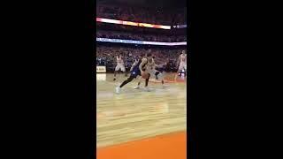 [Long Version] Winning shot!  COURTSIDE: Syracuse beats Duke with AMAZING Buzzer Shot!